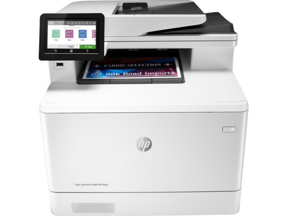 HP, Colour, A4, Laserjet, Pro, 27ppm, M479FDW, MFP, Printer,