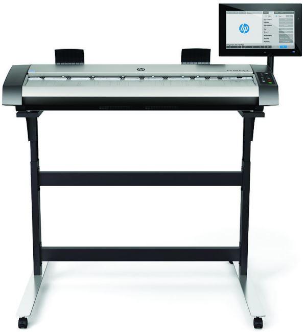 HP, HD, Pro, 2, B0, 42, 1200dpi, Wide, Format, Scanner,
