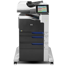 HP, LaserJet, Enterprise, 700, MFP, M775f, 30, ppm, Colour, A3, Laser, Printer,