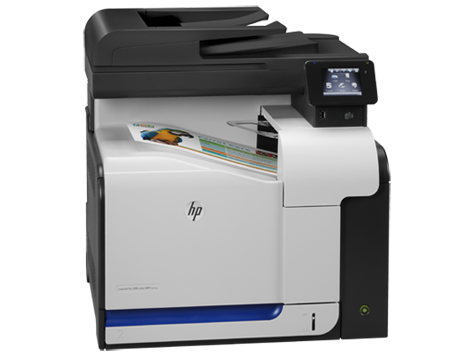 HP, Colour, A4, LaserJet, Pro, 500, 30ppm, M570DW, MFP, Printer,