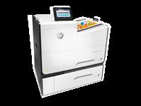 HP, Pagewide, 556XH, Enterprise, 50ppm, 2-Tray, Colour, Inkjet, Printer,