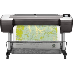 HP, DesignJet, T1700, B0, 44, 6, ink, Dual, Roll, Postscript, Printer,