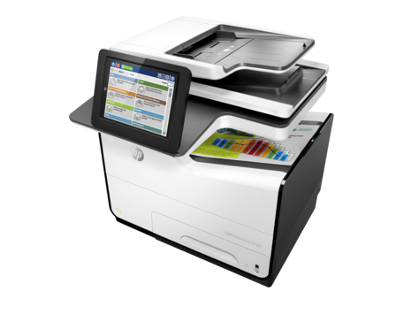 HP, Pagewide, 586F, Enterprise, 50ppm, Colour, Inkjet, Multifunction, Printer,