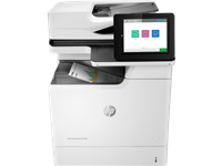 HP, Color, A4, Laserjet, Enterprise, 50ppm, M681dh, MFP, Printer,