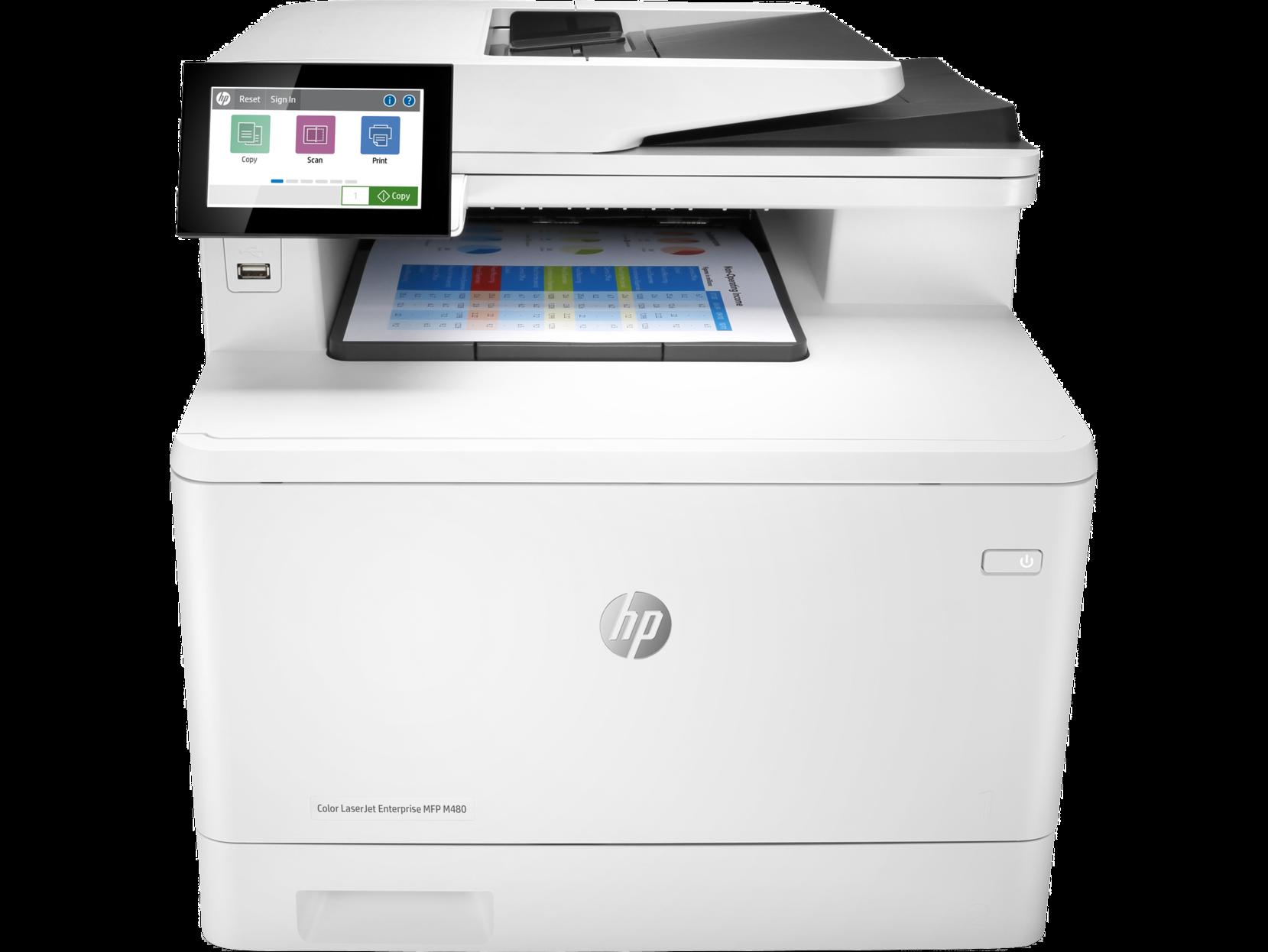 HP, Laserjet, M480f, A4, 27ppm, Colour, MFP, Laser,