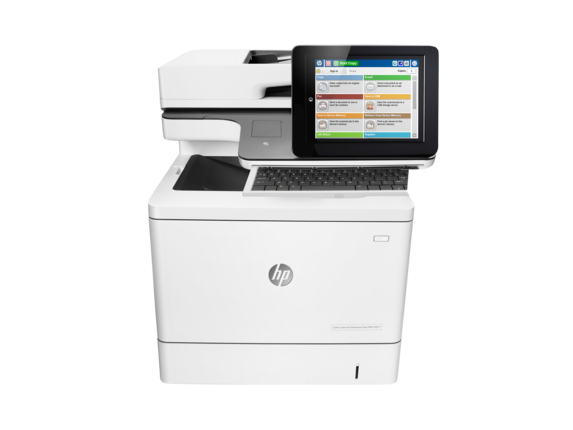 HP, Colour, A4, Laserjet, Enterprise, 40ppm, M577z, MFP, Printer,