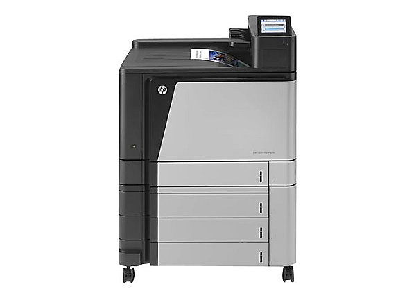 HP, LaserJet, Enterprise, M855xh, A3, Colour, Laser, Printer,