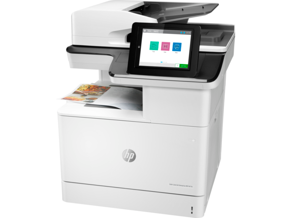 HP, Colour, A4, Laserjet, Enterprise, 46ppm, M776DN, MFP, Printer,