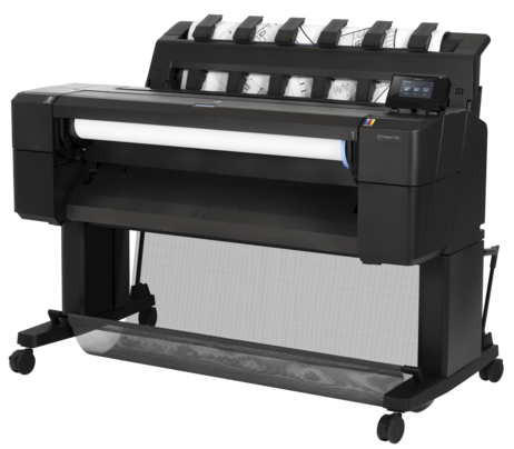 HP, Designjet, T930, 36, A0, 6-Colour, Postscript, Printer, plus, Bonus,