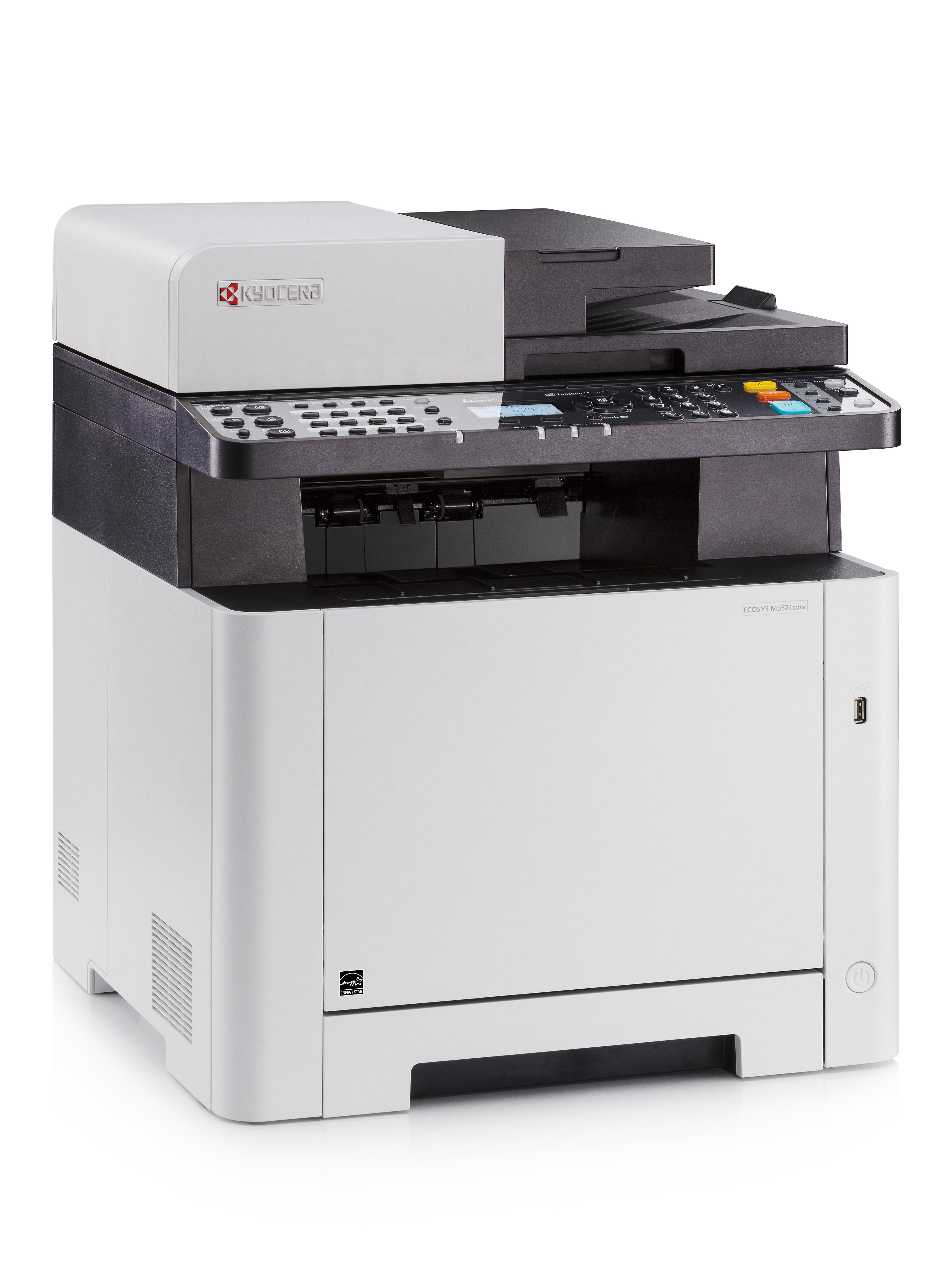 Kyocera, Ecosys, M5521CDW, A4, 21ppm, Colour, WiFi, Colour, Laser, MFP,