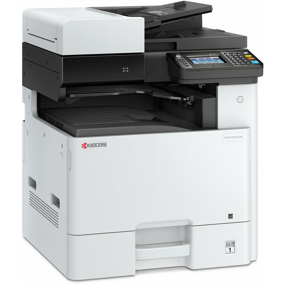 Kyocera, M8124CIDN, A3, Colour, 24ppm, MFP, Laser, with, 3yrs, Warranty,