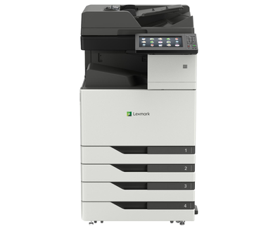 Lexmark, CX923DTE, 55ppm, A3, Colour, 4x500, sheet, MFP, Laser,