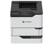 LEXMARK, MS826DE, 66PPM, NW, A4, DUPLEX, 4.3, TSCRN, USB, MONO, PRINTER, 1YR, OS, REPAIR, NBD,