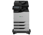 Lexmark, CX825DTE, A4, 52ppm, Colour, Multifunction, Laser,