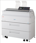 OKI, Teriostar, LP-2060-MF, A1, 9ppm, 4, roll, Wide, Format, Multifunction, Laser, Printer,