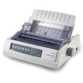 OKI, Microline, 320, TURBO, 9, Pin, 80, Column, Dot, Matrix, Printer,