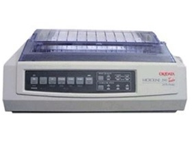 OKI, Microline, 390, TURBO, 24, Pin, 80, Column, Dot, Matrix, Printer,