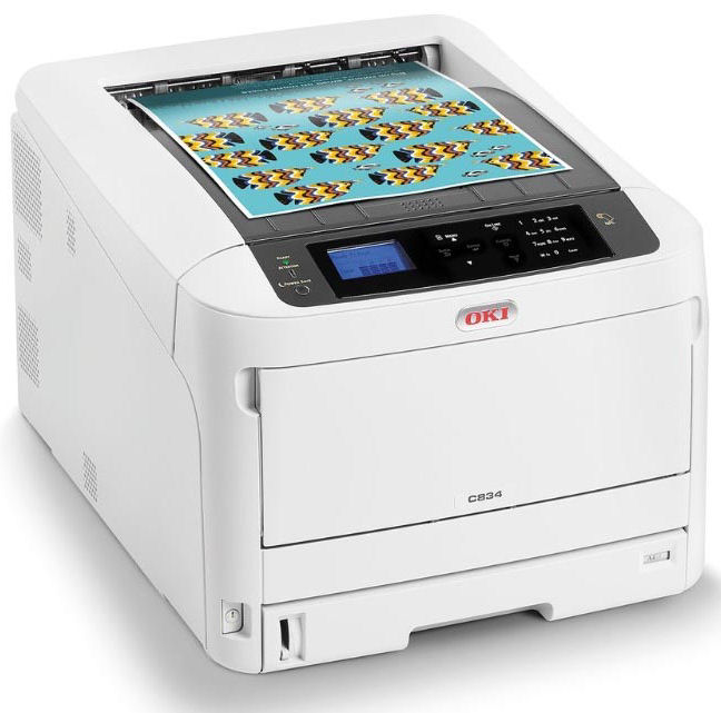 Laser - Colour A3/Oki: OKI, C834dnw, Colour, A3, 36ppm, WiFi, Duplex, Laser, Printer, with, 3yr, Warranty,