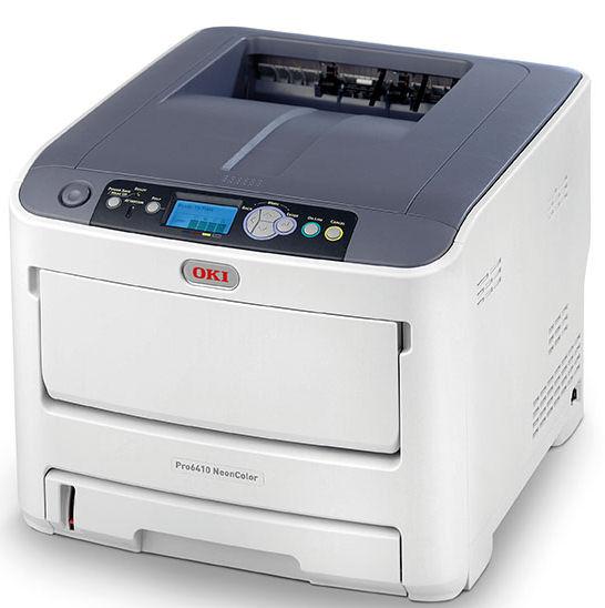 OKI, Pro6410, NeonColor, A4, 34ppm, 400, sheet, Laser, Printer,