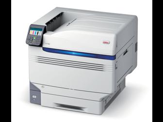 OKI, Pro9542dn, Colour, A3, 50ppm, 5, station, Single, Pass, (CMYK+White), Laser, Printer,
