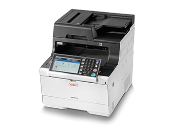 Oki, MC573DN, A4, 30PPM, NET, DUP, AIRPRINT, GOOGLE, PRINT, 350, SHT, 4-IN-1, MFP+CMYK, BUNDLE,