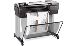HP, DesignJet, T830, 24, A1, Multifunction, Printer, plus, BONUS,