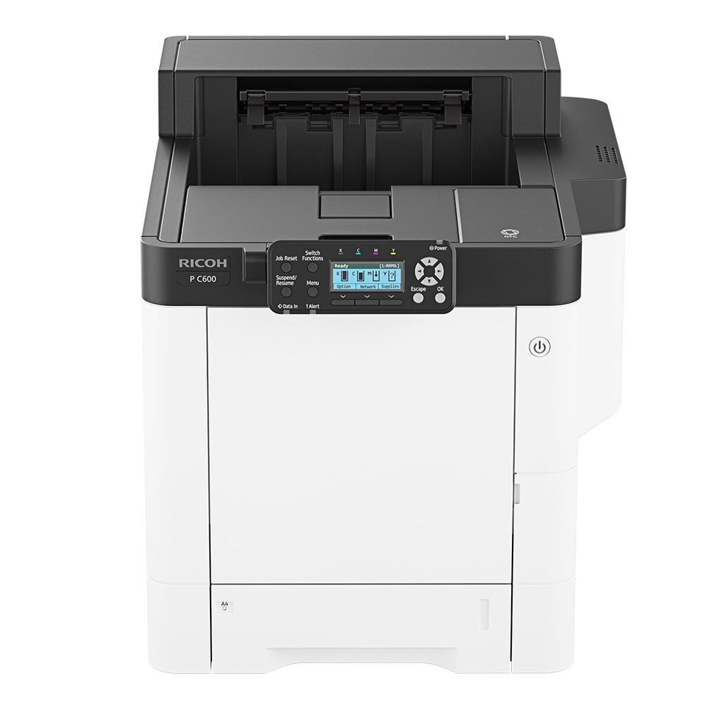 Ricoh, P, C600, A4, 40ppm, Colour, Laser, Printer,