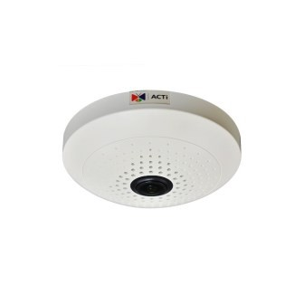 ACTI, IP, Camera, B56, 3MP, Indoor, Fisheye,