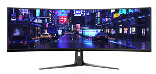 ASUS, ROG, Strix, XG49VQ, 49, Inch, Super, Ultra-Wide, 144Hz, FreeSync2, Curved, Gaming, Monitor,