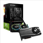 EVGA, GeForce, RTX, 3090, FTW3, ULTRA, HYBRID, GAMING, 24G-P5-3988-KR, 24GB, GDDR6X, ARGB, LED, Metal, Backplate, HDMI, DPx3,