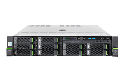 "Fujitsu, RX2540, M5, Bundle, -, Xeon, Silver, 4208, (1/2), /, 32GB, DDR4, (1/24), /, Solid, State, Drive, (SSD)/SAS/SATA, 2.5"", (0/8),"