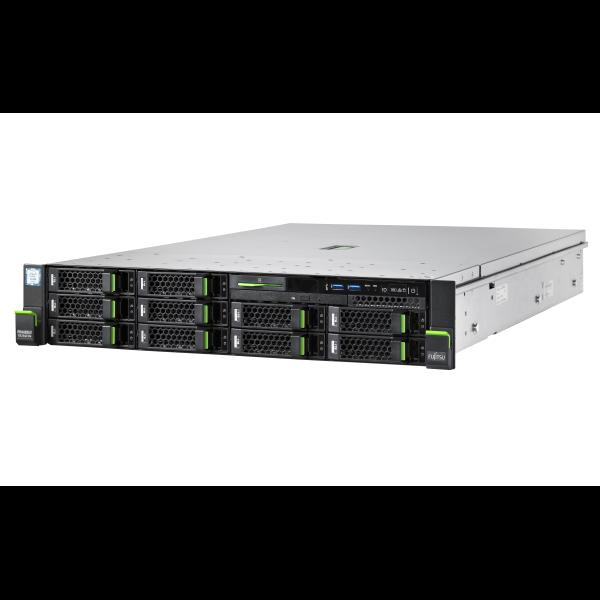 "Fujitsu, RX2540, M4, Xeon, Silver, 4110, (1/2), 16GB, DDR4-2666, R, ECC, (1/24), SSD/SAS/SATA, 2.5"", (0/8), EP420i, IRMC, 800W,"