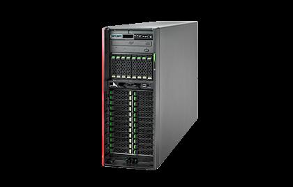 "Fujitsu, TX2550, M5, XEON, Silver, 4208, 8C, (1/2), 16GB, DDR4, -2933, R, ECC, (1/24), 3.5"", SATA/SAS, (0/8), EP420i, IRMC, 800W,"