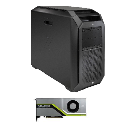 Z8, High, Performance, Workstation, dual, 8280, (56, cores, 2.7ghz), 512GB, RAM, 2*2TB, SSD, 1125W, power, dual, 10GBe, RTX8000, 48GB,