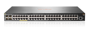 HP, Enterprise, ARUBA, 2930F, 48G, PoE, 4SFP, SWITCH,