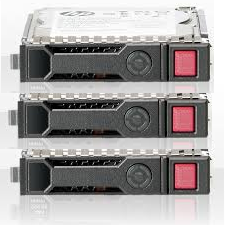 HPE, 1.2TB, SAS, 10K, SFF, SC, DS, Disk, x3, +, 8GB, SD, CARD, x1,