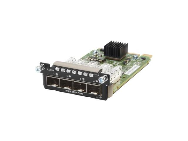 HP, JL083A, Aruba, 3810M, Series, Switch, 4-Port, Sfp, Plus, Module,