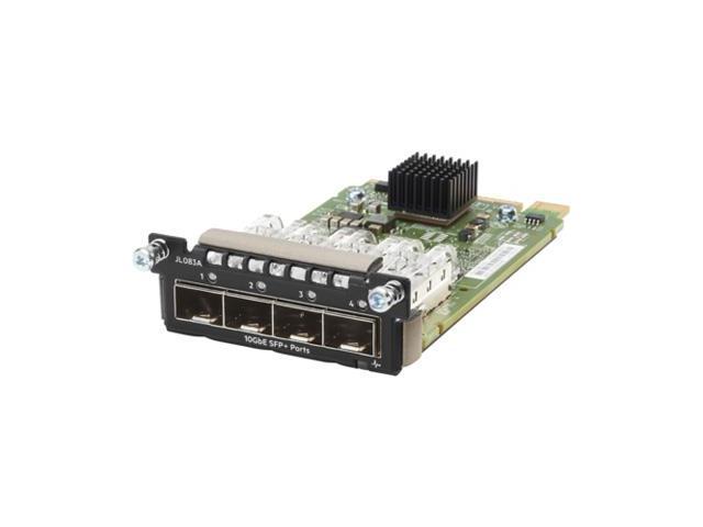HP, JL083A, Aruba, 3810M, Series, Switch, 4-Port, Sfp, Plus, Module,