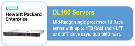 HP, Enterprise, E, DL160, Gen10, 3204, 1P, 16G, 4LFF, Svr,