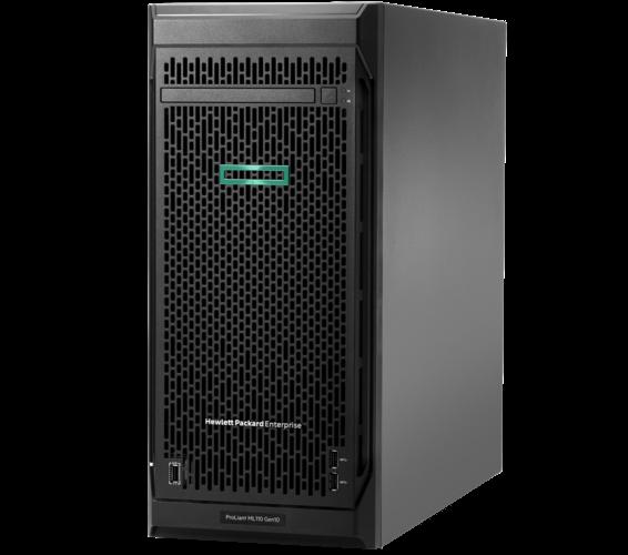 HPE, ML110, G10, 4210(1/1), 16GB, SATA(0/8), HP-2.5(SFF), P408i, 800W, TWR, 3YR,
