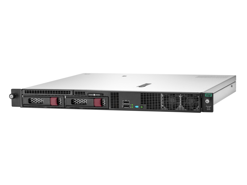 Rack Mounted/HP Enterprise: HPE, DL20, Gen10, E-2124, (4, core), with, 8GB, RAM, S100i, controller, and, 2, LFF, drive, bays,