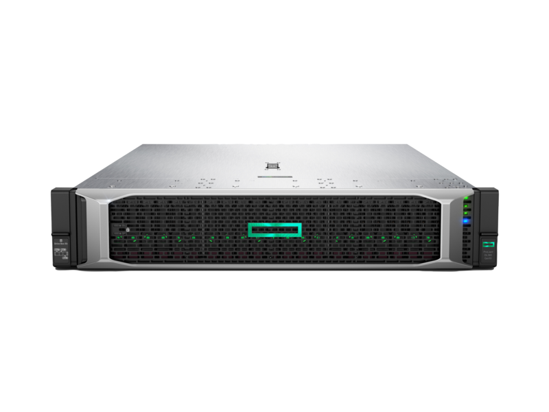 HPE, DL380, Gen10, 4208, 1P, 32G, 24SFF, Svr+, 2x16GB, (P00922-B21)+RPS(865414-B21),