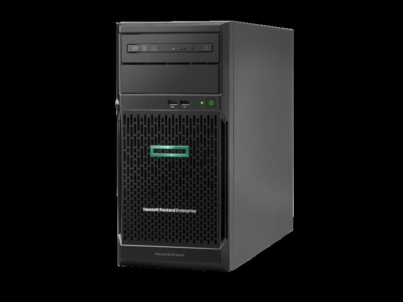HP, Enterprise, E, ML30, Gen10, E-2224, 1P, 16G, 4LFF, Svr,