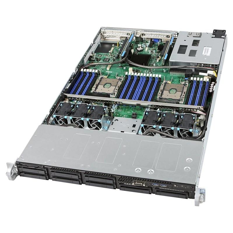 INTEL, 1RU, SVR, 4208(1/2), 32GB(2/24), 2.5(0/8), VROC, RPS, 10GbE, RMM, 3YR,