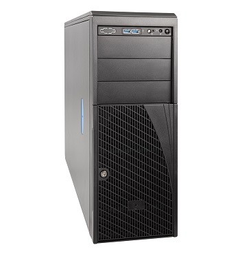 Intel, Server, Chassis, HDD(0/4), PSU(0/2), 4U, TOWER, FITS, M/B, S2600CW, 3YR, Warranty,
