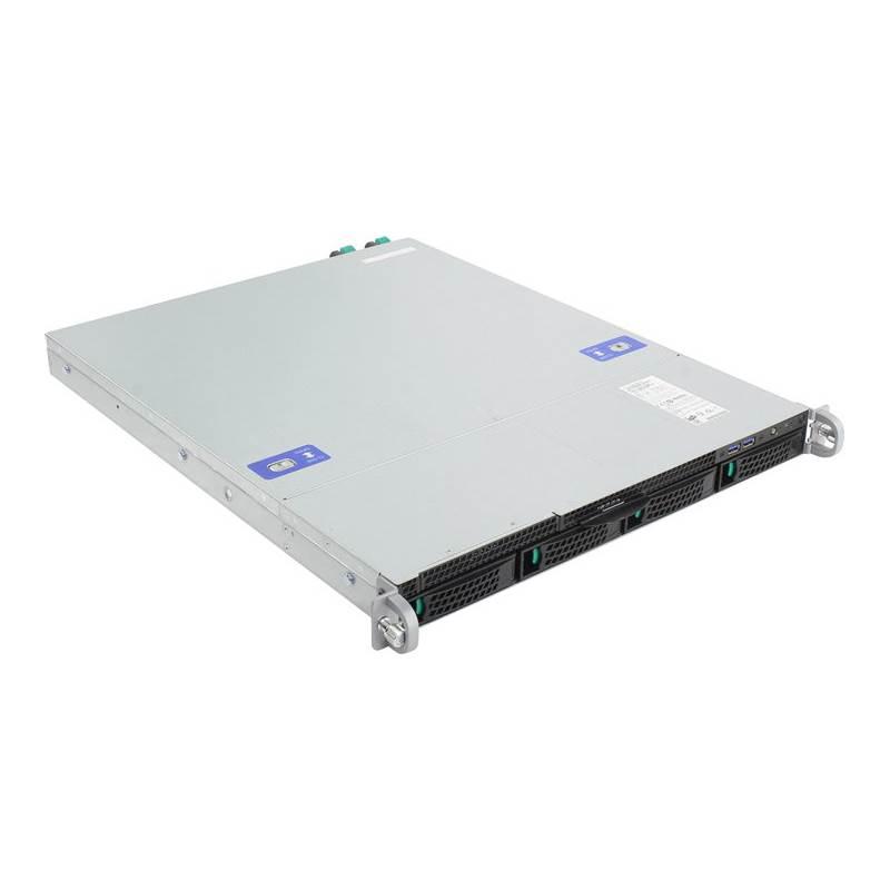 Intel, Barebones, (No, processor, or, RAM), Server, 1RU, CPU-1151(0/1), DIMM(0/4), 3.5(0/4), RPS(2/2), GbE(2), 1U, 3YR,