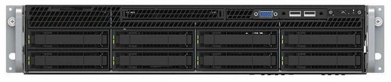 INTEL, 2RU, SVR, 4208(1/2), 32GB(2/24), 2.5(0/8), VROC, RPS, 10GbE, RMM, 3YR,