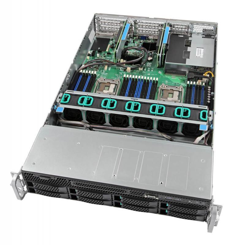 Intel, 2U, Server, 4110(1/2), 32GB(2/24), 3.5(0/12), HW, RAID, RPS, RMM, 3YR,