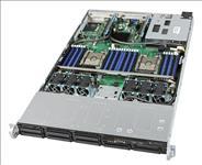 Intel, Barebones, (No, processor, or, RAM), Server, 1RU, CPU-3647(0/2), DIMM(0/24), 2.5(0/8), 1100W(1/2), 10GbE(2), 3Year, Warr,