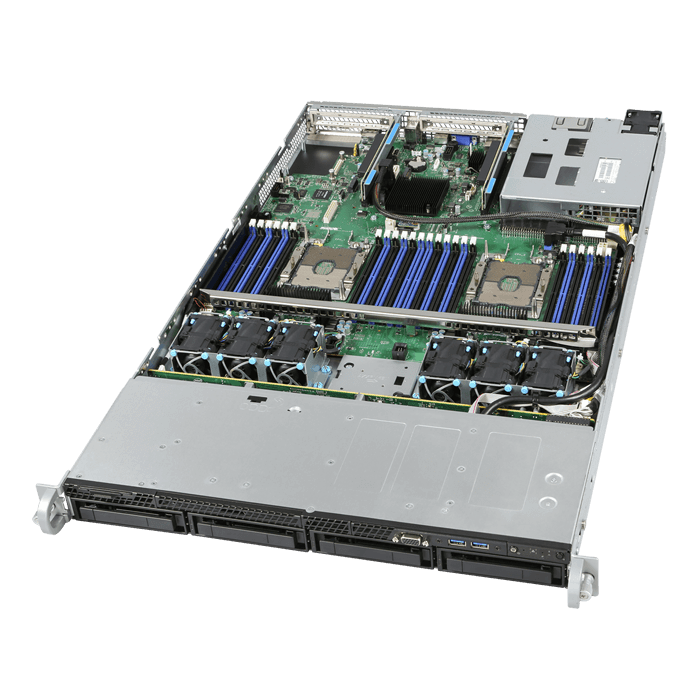 Intel, Barebones, (No, processor, or, RAM), Server, 1RU, CPU-3647(0/2), DIMM(0/24), 3.5(0/4), 1100W(1/2), 10GbE(2), 3Year, Warr,